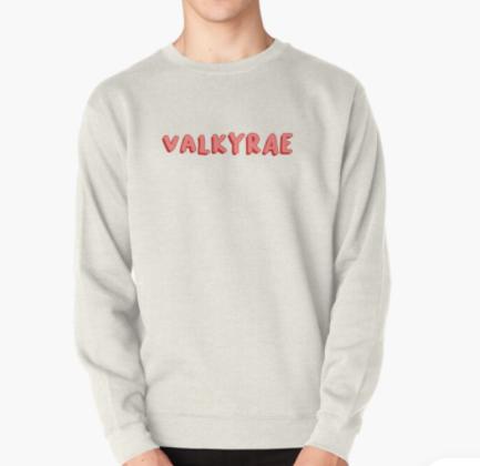 Amaznig Valkyrae Pullover Sweatshirt