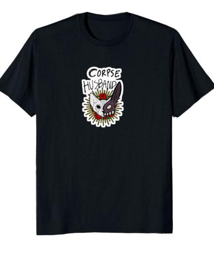 Corpse Husband Cat Tshirt